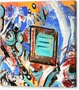 Pizazz Canvas Print