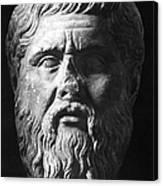 Plato (c427 B.c.-c347 B.c.) Canvas Print