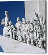 Portuguese Maritime Monument Canvas Print