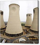 Power Station Cooling Towers Canvas Print