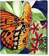 Precocious Butterfly Canvas Print