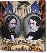 Presidential Campaign, 1856 Canvas Print