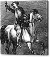 Presidential Campaign, 1864 Canvas Print