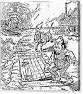 Presidential Campaign, 1900 Canvas Print