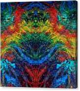 Primary Abstract IIi Design Canvas Print
