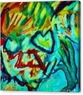Purple People Eater Canvas Print