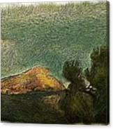 Pyramid Peak 2 Canvas Print