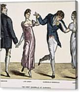 Quadrille, 1820 Canvas Print