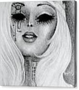 Queen Machina Canvas Print