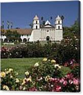 Queen Of The Spanish Missions Canvas Print