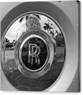 R R Wheel Canvas Print