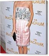 Rachel Bilson Wearing A Chanel Couture Canvas Print