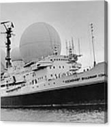 Radio Antennae On A Soviet Ship Canvas Print