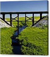 Railroad Trestle Canvas Print