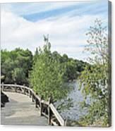 Ramsey Lake Boardwalk Canvas Print