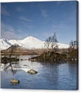 Rannoch Moor - Winter Canvas Print