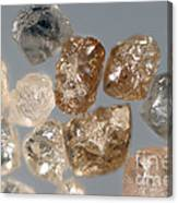 Raw Diamonds Canvas Print