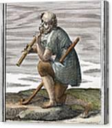 Recorder, 1723 Canvas Print