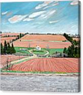 Red Soil On Prince Edward Island Canvas Print
