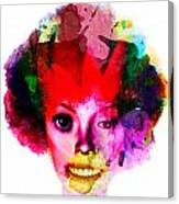 Relationship Of A Clown Canvas Print