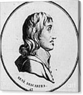 Rene Descartes, French Polymath Canvas Print