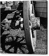 Retired Wagon Canvas Print