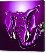 Ringo Party Animal Purple Canvas Print