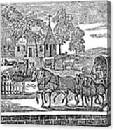 Road Travel Canvas Print