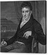 Robert Fulton, American Engineer Canvas Print