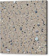 Rocks Sorted By The Wind Canvas Print