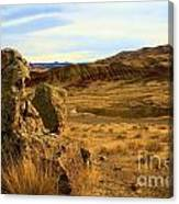Rocky Painted Hills Canvas Print