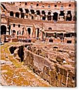 Roman Coliseum  Canvas Print