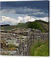 Roman Wall Country Canvas Print