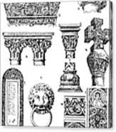 Romanesque Ornament Canvas Print