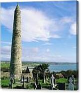 Round Tower, Ardmore, Co Waterford Canvas Print