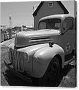 Route 66 Truck And Gas Station Canvas Print