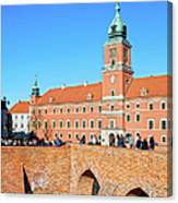 Royal Castle In Warsaw Canvas Print