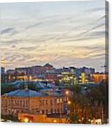 Russian City Night Canvas Print