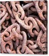 Rusty Chains Canvas Print