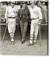 Ruth, Dunn And Bentley Canvas Print