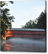 Sachs Covered Bridge  Near Gettysburg Canvas Print