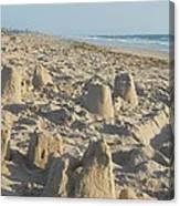 Sand Play Canvas Print