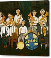 Santa Fe Band Canvas Print