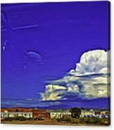 Santa Fe Drive - New Mexico Canvas Print