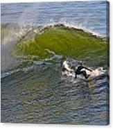 Sc Surfer Canvas Print