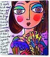 Scarlett O'hara Canvas Print