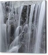Scenic Waterfall In Borneo Rain Forest Canvas Print