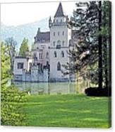 Schloss Anif Canvas Print