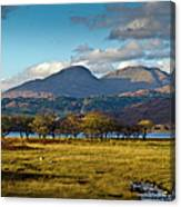 Scottish Landscape View Canvas Print