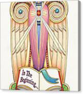 Scroll Angel - Ionica Canvas Print